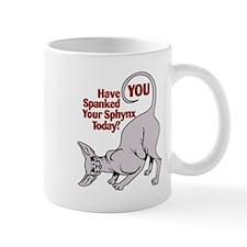 Spank Your Sphynx - Spots Mug
