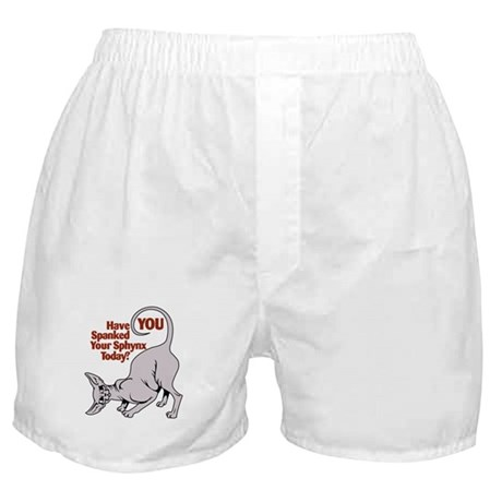 Spank Your Sphynx - Spots Boxer Shorts