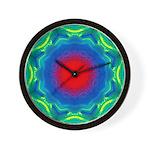 MANDALA SERIES:  Sand Mandala Wall Clock
