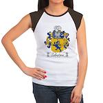 Salvatore Family Crest Women's Cap Sleeve T-Shirt