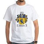 Salvatore Family Crest White T-Shirt