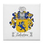 Salvatore Family Crest Tile Coaster