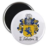 Salvatore Family Crest Magnet
