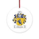 Salvatore Family Crest Ornament (Round)