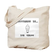 Happiness is Ice Cream Tote Bag