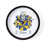 Salomoni Family Crest  Wall Clock
