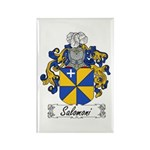 Salomoni Family Crest Rectangle Magnet (10 pack)