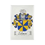 Salomoni Family Crest Rectangle Magnet (100 pack)