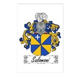 Salomoni Family Crest  Postcards (Package of 8)