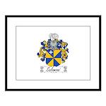 Salomoni Family Crest  Large Framed Print