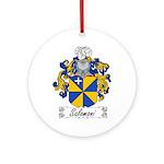 Salomoni Family Crest  Ornament (Round)