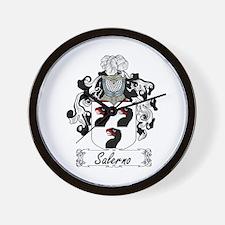 Salerno Coat of Arms Wall Clock