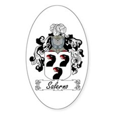 Salerno Coat of Arms Oval Decal