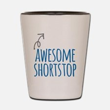 Awesome shortstop Shot Glass