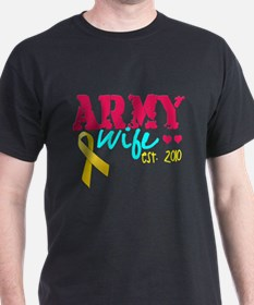 Army Wife Est 2010 T-Shirt