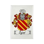 Sajani Family Crest Rectangle Magnet (100 pack)