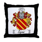 Sajani Family Crest  Throw Pillow
