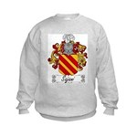 Sajani Family Crest  Kids Sweatshirt