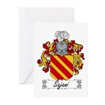 Sajani Family Crest  Greeting Cards (Pk of 10)
