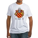 Sajani Family Crest  Fitted T-Shirt