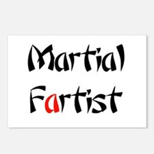 Martial Fartist Postcards (Package of 8)