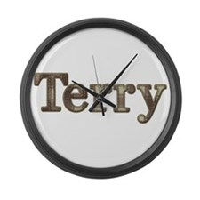 Terry Large Wall Clock