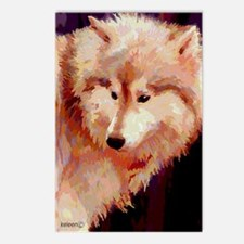 Siberian Husky or Wolf Postcards (Package of 8)