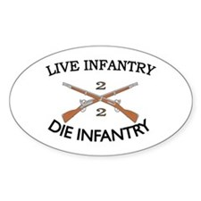 2nd Bn 2nd Infantry Decal
