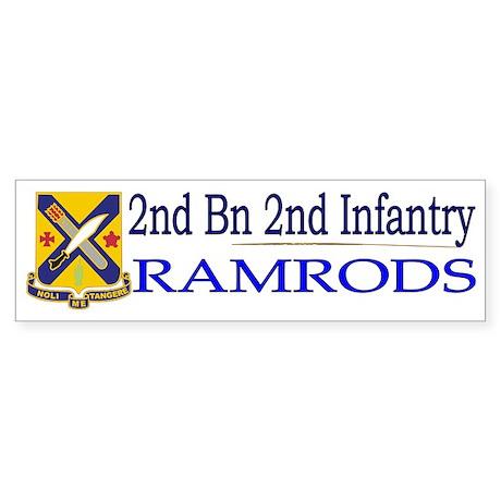 2nd Bn 2nd Infantry Sticker (Bumper)