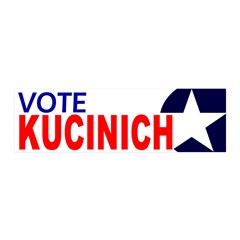 Vote Kucinich peel and stick wall decoration