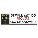 Bumper Sticker / Simple Minds