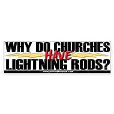 Bumper Sticker / Lightning Rods