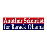 Another Scientist for Obama 2012 Wall Peel