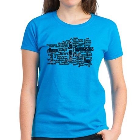 Gymnastics Jargon Women's Dark T-Shirt