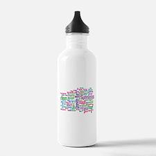 Gymnastics Jargon Water Bottle