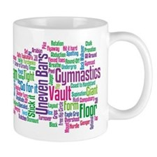 Gymnastics Jargon Mug
