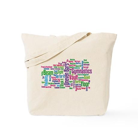 Gymnastics Jargon Tote Bag