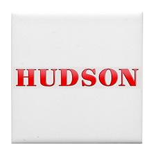 Hudson Motorcars Tile Coaster
