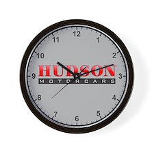 Hudson Motorcars Wall Clock