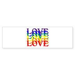 LOVE UNITY Bumper Sticker