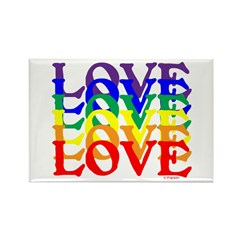 LOVE UNITY Rectangle Magnet (10 pack)