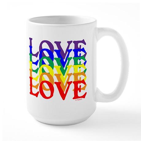 LOVE UNITY Large Mug