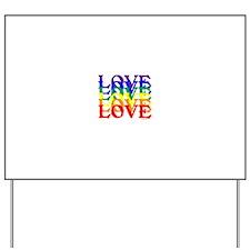 LOVE UNITY Yard Sign