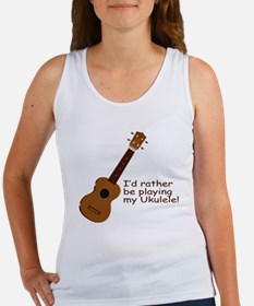 Ukulele Design Women's Tank Top