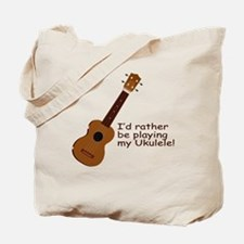 Ukulele Design Tote Bag