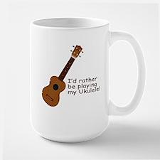 Ukulele Design Mug