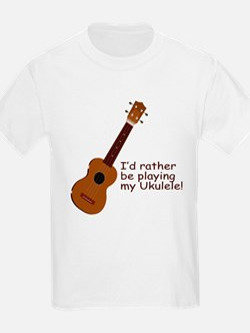 Ukulele Design T-Shirt