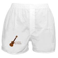 Ukulele Design Boxer Shorts