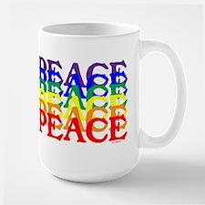 PEACE UNITY Large Mug