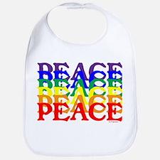 PEACE UNITY Bib